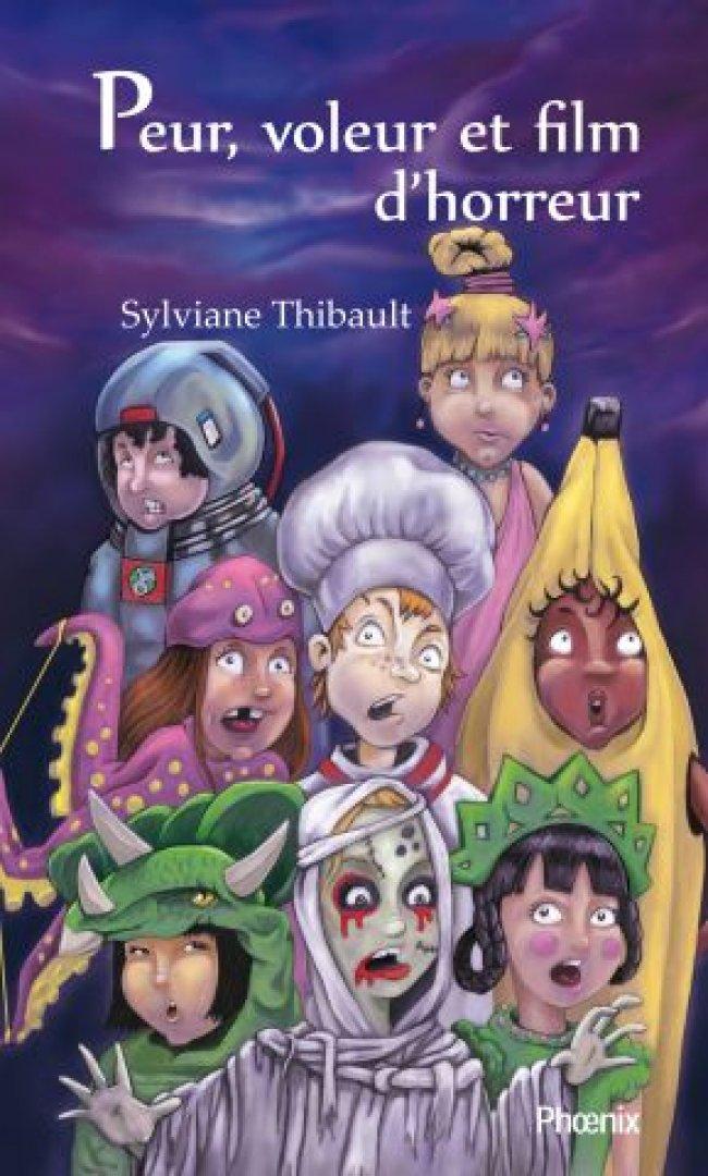 Peur, voleur et film d'horreur de Sylviane Thibault : Prix littéraire jeunesse Tamarac Express 2012 - Finaliste